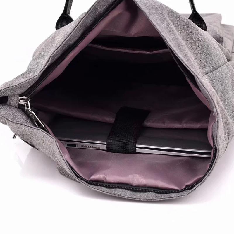 客製化日系折口雙肩後背包