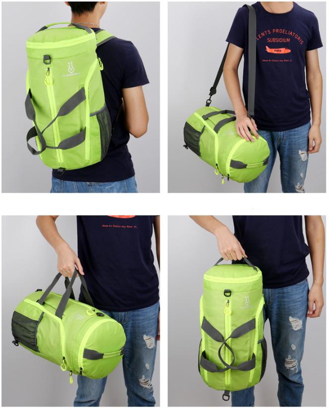 客製化大容量摺疊收納兩用後背包