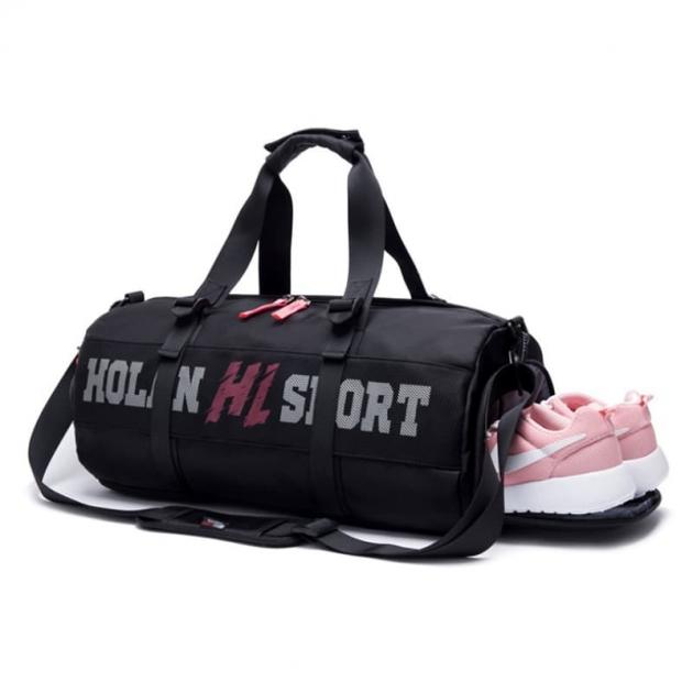 客製化潮流運動獨立鞋層健身包