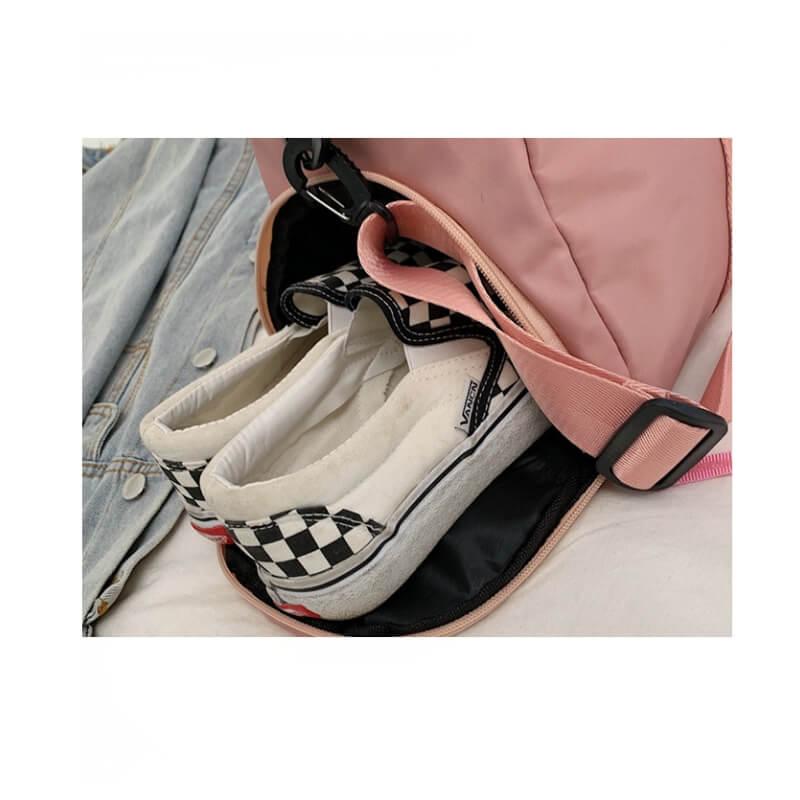 代工經典運動附鞋袋健身包